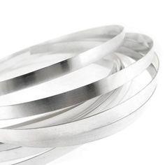 5 feet Fine Silver Plain Bazel Strip Jewelry Wire Gauge US Made Sea Glass Art, Sea Glass Jewelry, Wire Jewelry, Silver Jewelry, Soldering Jewelry, Silver Ring, Jewlery, Diy Jewelry Gifts, Jewelry Ideas