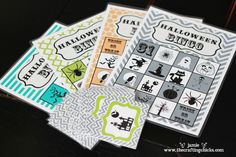 Here's a cute & FREE Halloween Bingo printable game for the kids!