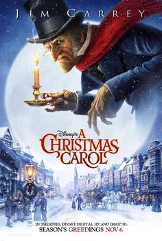 disney movie posters | Disney's A Christmas Carol - Movie Posters
