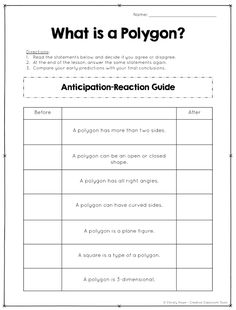 anticipation guides monitor students understanding of both fiction rh pinterest com Anticipation Guide Examples Literature Anticipation Guide Secondary Example