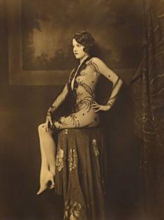 Jean Ackermann Ziegfield girl