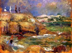 William James Glackens (1870-1938) By the Seashore (n.d.)
