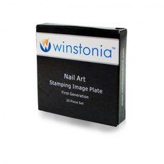 Winstonia 20pc Nail Art Stamp Stamping Image Plate Set Bundle First Generation $15.99