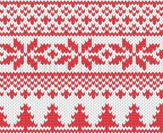 Vector of 'Christmas knitted background'