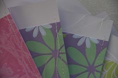 ... Lila & Lime ...: Papier kun je ook naaien