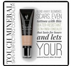 Younique skin perfecting concealer. .. covers scars, age spots, redness even tattoos for special occasions. ..