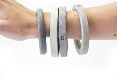 concrete bangles by 20 eight design [available at www.africandy.com]