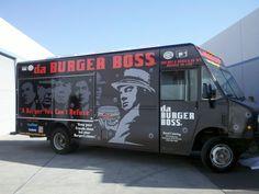 da burger boss truck... wrapped finish