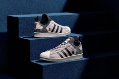 adidas Originals has unveiled a Superstar Boost silhouette designed in  tandem with BAPE and NEIGHBORHOOD. 7237e76e3e