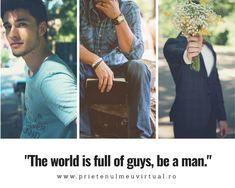 Afla totul despre barbati pe blogul Prietenul meu virtual.