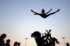 Cheerleading isn't just kicks and pom-poms on the sideline anymore. It's evolved into elaborate pyramids and dangerous routines that incorporate gymnastics. Now, a new study finds cheerleaders are getting injured more often and more severely. Doctors say making it an official sport will help keep it safer. So, should cheerleading be considered a sport? (Story)