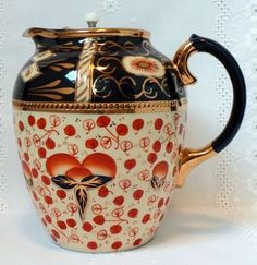 Vintage Welsh Pitcher. I adore this design. Does anyone know anything about the maker?