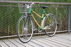 Modèle urbain en bambou