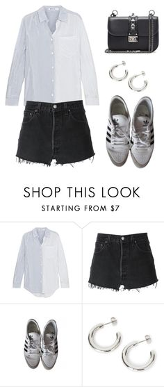 """""""Untitled #7959"""" by ijustlikefashionman ❤ liked on Polyvore featuring T By Alexander Wang, RE/DONE and Valentino"""