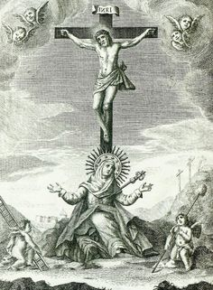 Jesús Catholic Missal, Catholic Art, Catholic Saints, Religious Art, Vintage Holy Cards, Our Lady Of Sorrows, Spiritual Images, Esoteric Art, The Cross Of Christ