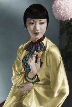 Anna May Wong by OTMARomanov