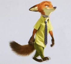#Nick #Wilde #Disney #Zootopia #walk #cycle #test #CGI #shock #collar #shockcollar #NickWilde