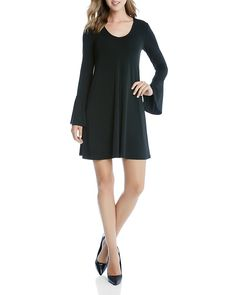 78.19$  Buy now - http://vibyl.justgood.pw/vig/item.php?t=fpulx8n37929 - Karen Kane Taylor Bell Sleeve Knit Dress
