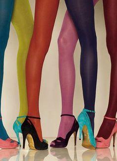Meia calça colorida =)