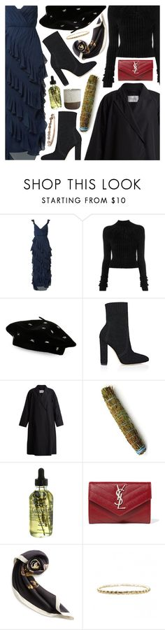 """""""Untitled #7057"""" by amberelb ❤ liked on Polyvore featuring Alice + Olivia, Helmut Lang, Steve Madden, Gianvito Rossi, MaxMara, Measurable Difference, House Doctor, Yves Saint Laurent and Loewe"""