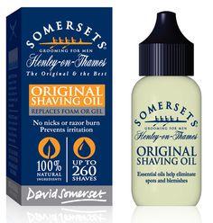 Somersets Original Shaving Oil - 35ml