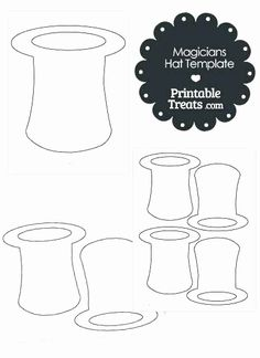 Eye patch pattern. Use the printable outline for crafts