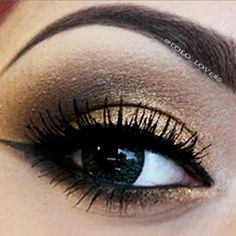 Smokey Brown Eyes by LoLo L!  nice color blend