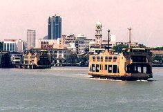 The Penang Ferry Straits Settlements, Army Family, Butterworth, The Old Days, Vintage Photographs, Travel Around, Old Photos, Singapore, New York Skyline