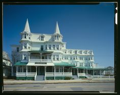 Image detail for -Colonial Hotel, Cape May New Jersey MAIN FACADE