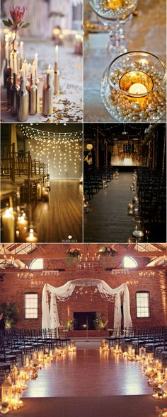 most beautiful wedding centerpice decoration aisle and ceremony ideas with candles