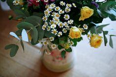 Olivier Burnside Fine Art Reportage Wedding Photographer. Wedding Flowers