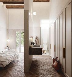 wooden floor!