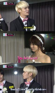 Shinee Key & Arisa-We Got Married  Jonghyun XD