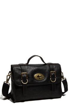 Fossil 'Vintage Reissue II' Leather Flap Satchel available at #Nordstrom
