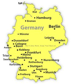France Mapped Explore Europes Most Popular Destination France - Germany city map quiz