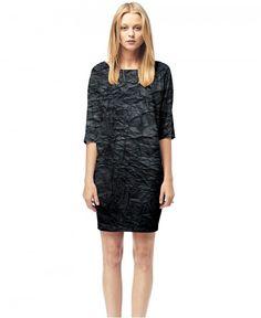 Black Paper - Printed T-shirt Dress
