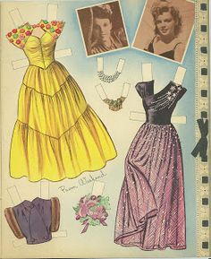 Miss Missy Paper Dolls: Judy Garland