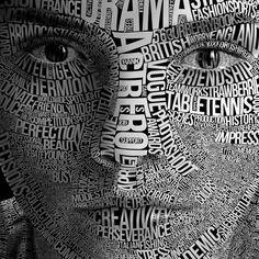 #lettering #font #face #girl