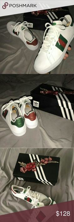 Gucci Stan Smiths Size 9.5 Brand new Don t want them trade or 180 threw 7dd48af1128