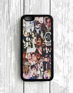 5 Second Of Summer Collage Art 5 SOS Music iPhone 5[C] Case