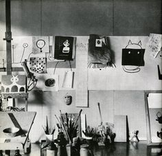 Paul Rand's studio