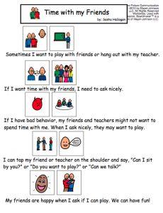image regarding Free Printable Social Stories for Preschoolers named 149 Least difficult SLP Social Tale Freebies visuals in just 2015 Social