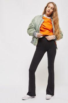 Pantalon évasé ultra-doux Grande