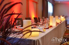 Weddings at Hockely Valley | Hockley Valley Events | Event Decor | Helix Candles