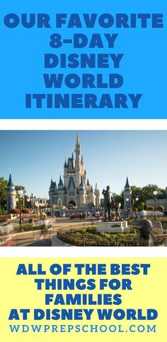 Here is THE best Disney World itinerary for families (where to stay, dining suggestions, how to tour). Save time and tour like a Disney pro with these tips, tricks,and helps to plan the best Disney vacation EVER! Disney World Vacation Planning, Disney World Florida, Walt Disney World Vacations, Disney Planning, Disney Land, Trip Planning, Disney Travel, Vacation Ideas, Disney World Shirts Family