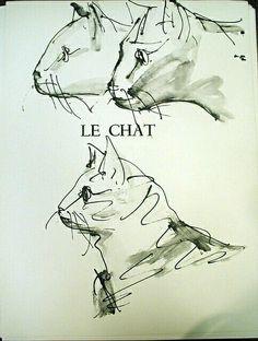 """Pablo Picasso, """"Le Chat"""""""