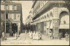 so many excellent postcards of old algiers