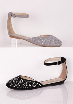 Madison Ankle Strap Flat - View All Clearance - Clearance - dELiA*s