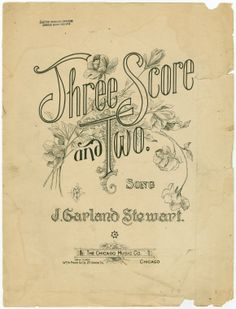 Three score and two (1896)