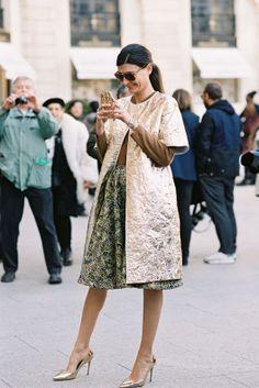brilliant | Vanessa Jackman: Paris Fashion Week AW 2013....Giovanna